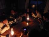 山小屋での夜☆
