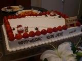 トッピングケーキ